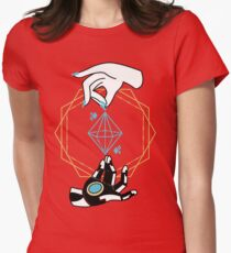 Symmetra Tarot Womens Fitted T-Shirt