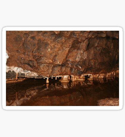 Königliche Höhle Sticker