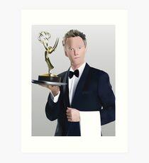 Neil Patrick Harris Emmy Art Print