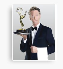 Neil Patrick Harris Emmy Canvas Print