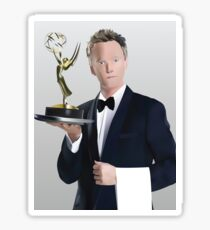 Neil Patrick Harris Emmy Sticker