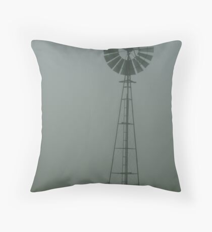 Windmill ,Macendon Ranges Throw Pillow