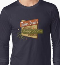 Inappropriate Starches Long Sleeve T-Shirt