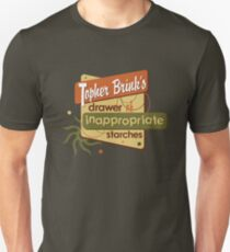 Inappropriate Starches Unisex T-Shirt