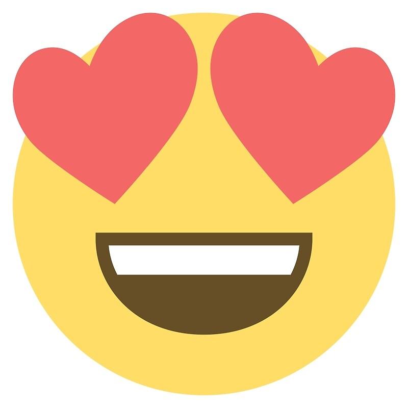 Image result for heart eye emoji