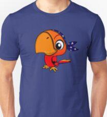 Cute parrot Unisex T-Shirt