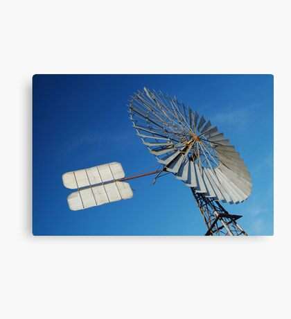 Big Outback Windmill, Boulia,Qld Canvas Print