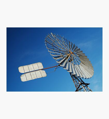 Big Outback Windmill, Boulia,Qld Photographic Print