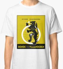 BICYCLES; Ronde Van Vlaanderen Advertising Print Classic T-Shirt