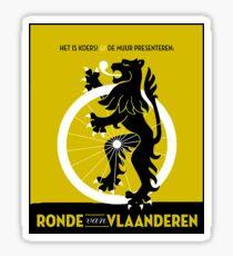 BICYCLES; Ronde Van Vlaanderen Advertising Print Sticker