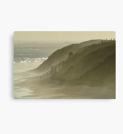 Sea Spray 13th Beach,Bellarine Peninsula Canvas Print