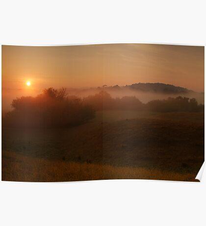 Otway Sunrise Poster