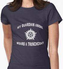 Castiel Angel Supernatural Womens Fitted T-Shirt