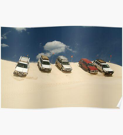 Dune Drivers,Robe Beach District South Australia Poster