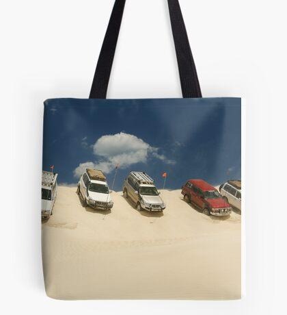 Dune Drivers,Robe Beach District South Australia Tote Bag