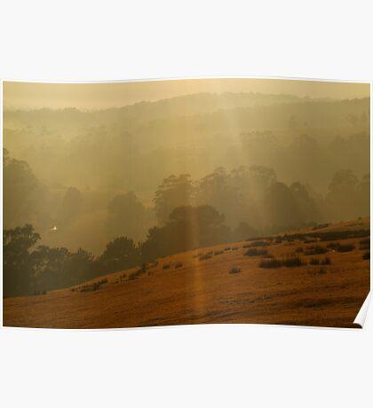 Otway Ranges Light Poster