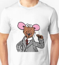 Rizzo the Rat Muppets Fanart Portrait JTownsend Unisex T-Shirt