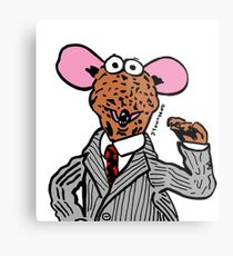 Rizzo the Rat Muppets Fanart Portrait JTownsend Metal Print