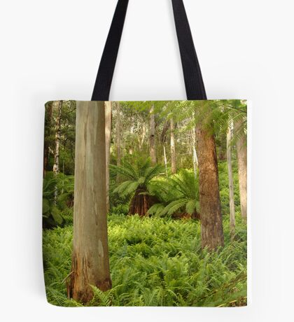 Ferns,Haunted Stream High Country Tote Bag