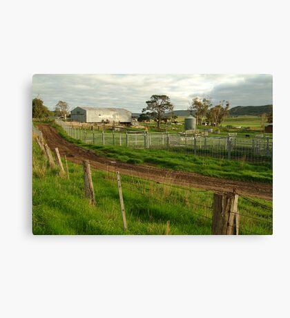 Dairy Farm,Rowsley Canvas Print
