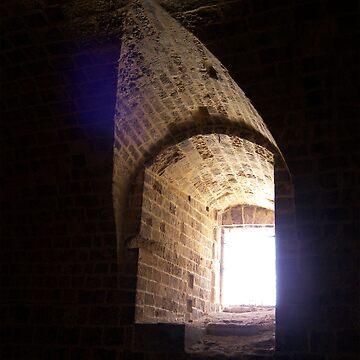 Window in St. Angelo's by dgatt