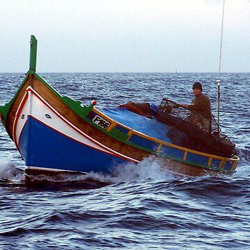 Maltese Fisherman by dgatt
