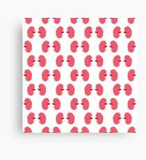human kidneys pattern Canvas Print