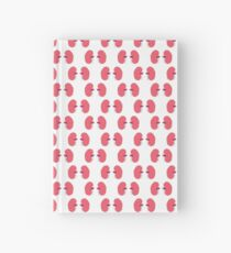 human kidneys pattern Hardcover Journal
