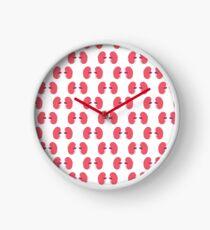 human kidneys pattern Clock
