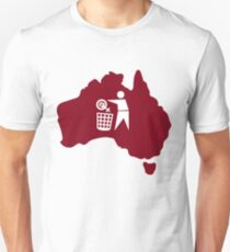 Anti-Feminism Australia inverted (logo only) Unisex T-Shirt