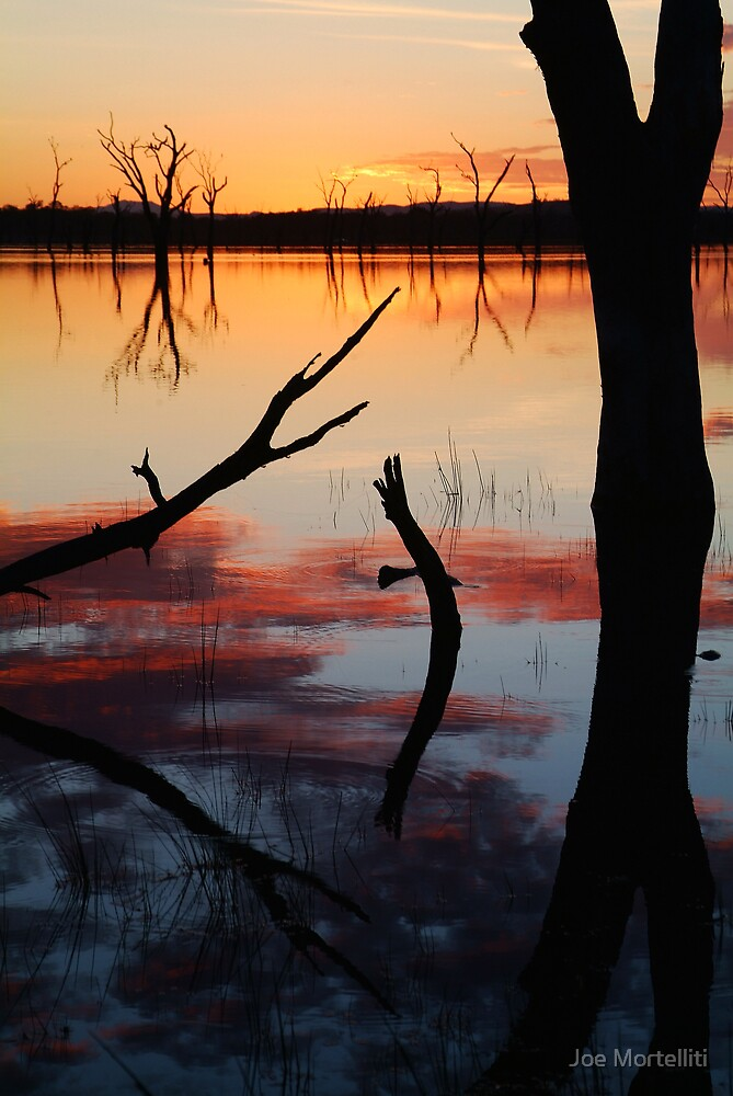 Lake Fyans Sunrise by Joe Mortelliti