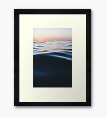 Tidal sunrise Framed Print