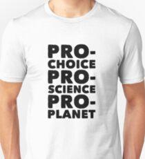 ProChoice, Science, Planet T-Shirt