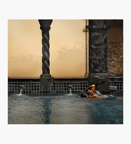 The Swimmer Photographic Print
