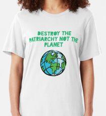 Destroy Patriarchy Slim Fit T-Shirt