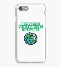 Destroy Patriarchy iPhone Case/Skin