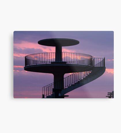Lookout Tower Geelong Metal Print