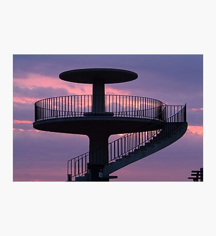 Lookout Tower Geelong Photographic Print