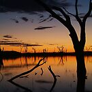 Sunrise, Lake Fyans Grampians by Joe Mortelliti