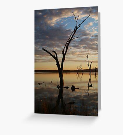 Lake Fyans Grampians Greeting Card