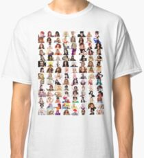 Checklist - Rupaul's Drag Race Queens  Classic T-Shirt