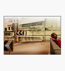 Bored Intersection Photographic Print