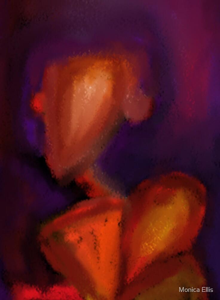 Sitting Red by Monica Ellis