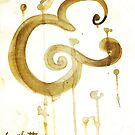Bold Brush Script Ampersand in Stain by Kosta for Finnllow by finnllow