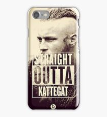 straight outta kattegat iPhone Case/Skin
