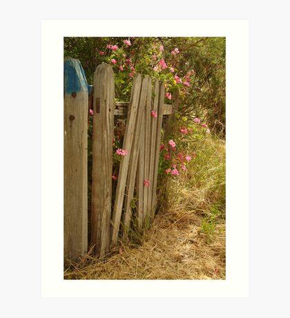 Garden Gateway,Batesford Art Print