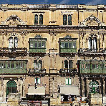 Building in Valletta Malta by dgatt