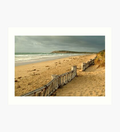 Early Morning Raaf's Beach Art Print
