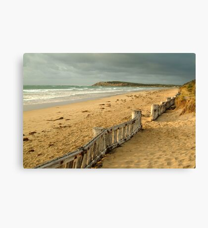 Early Morning Raaf's Beach Canvas Print