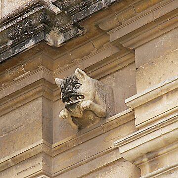 St. Catherine's Gargoyle Zejtun Malta by dgatt